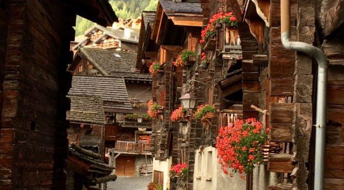 Evolene, Switzerland to Beautiful Grimentz- Day 3