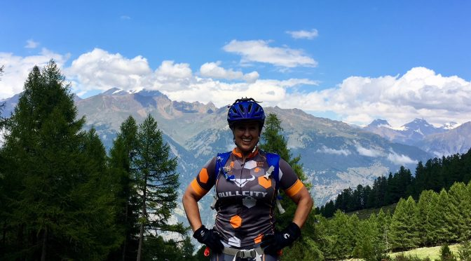 Grimentz, Switzerland to Unterbach- Day 4 of our Haute Route MTB trip