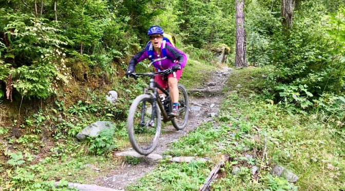 Chamonix, France to Verbier, Switzerland Day 1 of our Haute Route MTB trip)